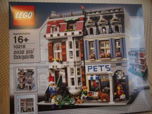 レゴ クリエイター ペットショップ 10218のパッケージ画像