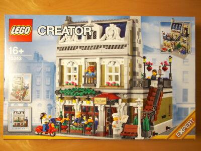 レゴ クリエイター エキスパート パリのレストラン 10243のパッケージ画像