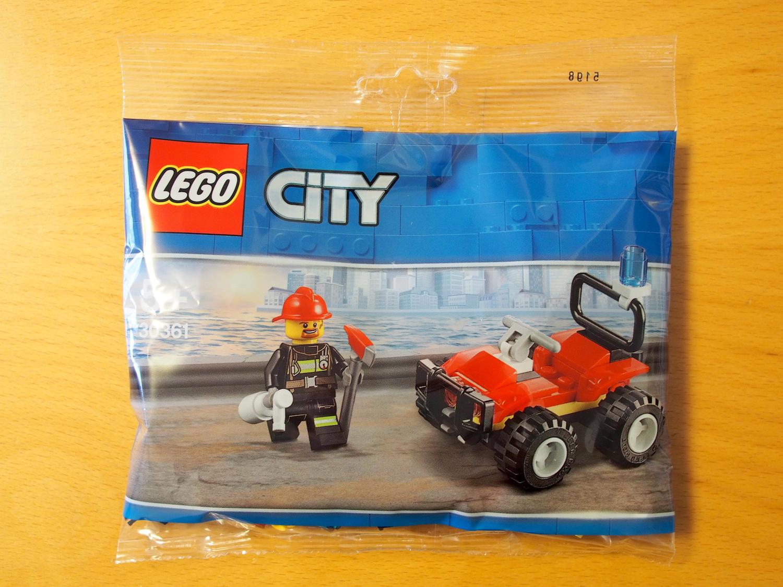 toymim撮影2:レゴ シティ 消防ミニセット 30361