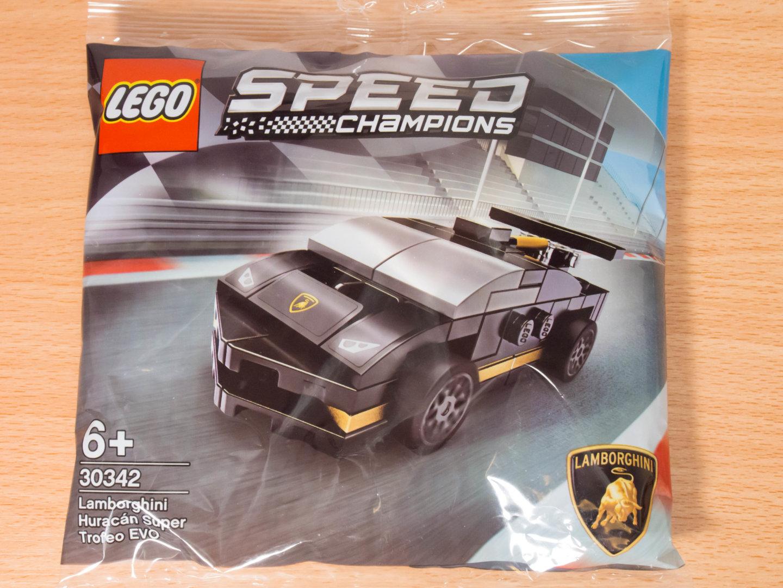 toymim撮影2:レゴ スピードチャンピオン ランボルギーニ ウラカン スーパートロフェオ EVO 30342