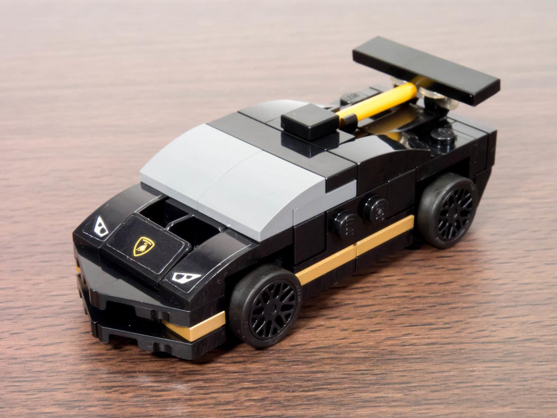 toymim撮影1:レゴ スピードチャンピオン ランボルギーニ ウラカン スーパートロフェオ EVO 30342
