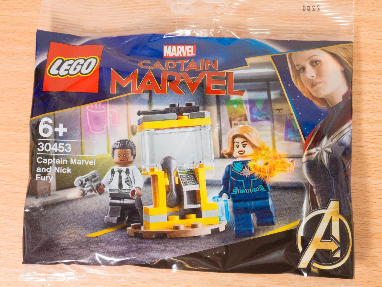 toymim撮影2:レゴ マーベルスーパーヒーローズ キャプテン・マーベルとニック・フューリー 30453