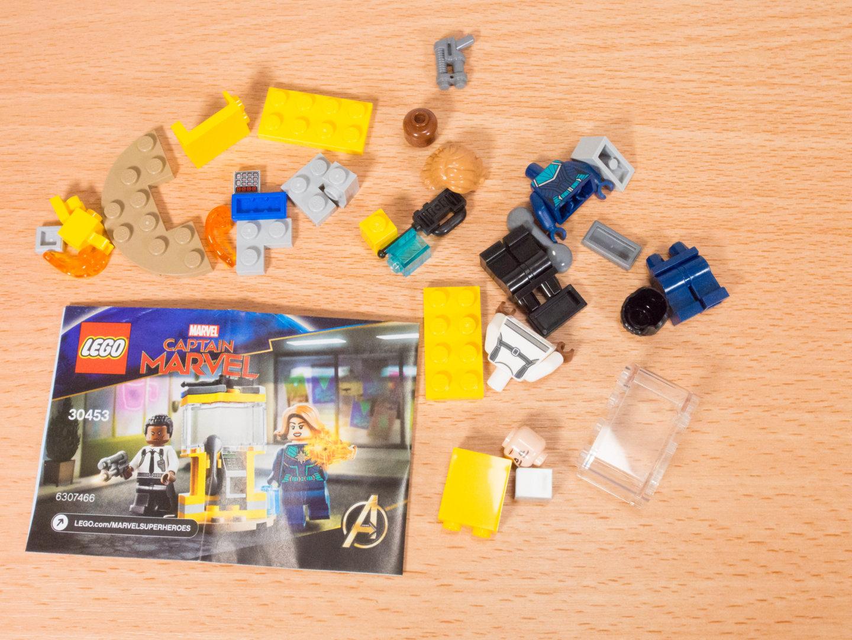 toymim撮影5:レゴ マーベルスーパーヒーローズ キャプテン・マーベルとニック・フューリー 30453