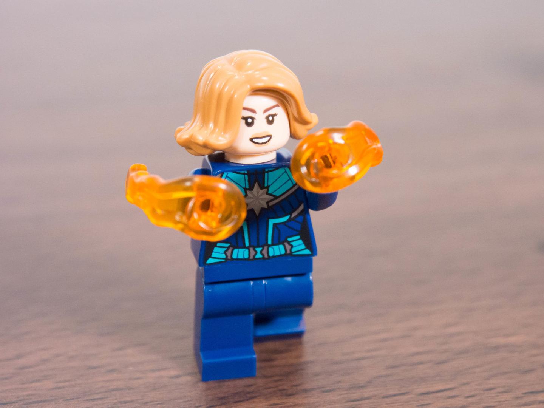 toymim撮影3:レゴ マーベルスーパーヒーローズ キャプテン・マーベルとニック・フューリー 30453