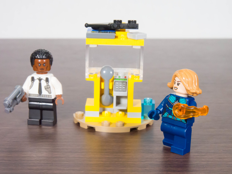 toymim撮影1:レゴ マーベルスーパーヒーローズ キャプテン・マーベルとニック・フューリー 30453